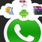Documentos Word y PDF se podrán enviar por WhatsApp